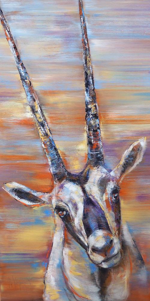 Arabische Oryxantilopen