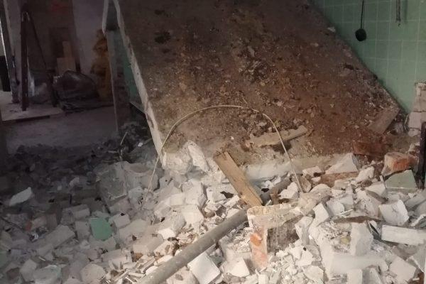 6 Oh Wand, die stehen bleiben sollte, auch mit umgefallen